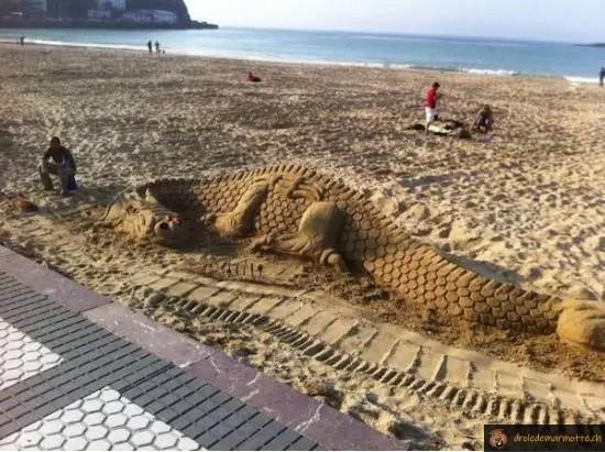 Dragon des sables