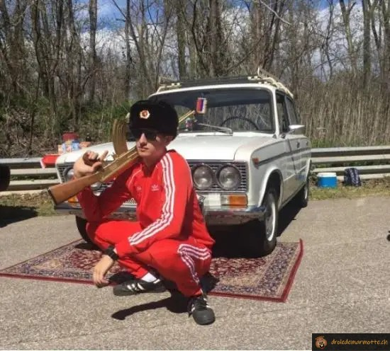 La frime en Russie